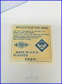 Mickey Mantle 1950's Dairylea Reflector Decal Sticker Baseball Card