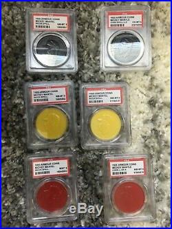 Mickey Mantle Coin Collection Armour, Topps, Old London, Salada-Junket, Etc