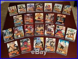 Naruto Manga COMPLETE Vol. 1-72 ENGLISH Old Viz Media Logo