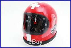 New old stock Tag Heuer F1 Helmet Alarm Clock (mn17)