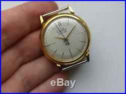 OLD Slava Transistor Extremely Rare USSR COLLECTIBLE WATCH for Repair/parts