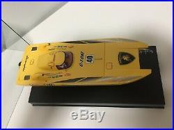 OLD Super Very Rare! Kyosho MINI-Z Catamaran BOAT Lamborghini C1 Body Collection