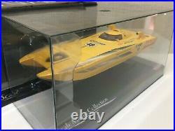 OLD VeryRare Kyosho MINI-Z Formula BOAT Lamborghini C-1 CAT #40 SCALE COLLECTION