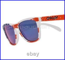 Oakley 24-318 Frogskins Old Glory Positive Red Olympic Collection Sunglasses