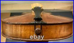 Old French violin Collenot Fils 4/4 size Collection sale with hard case