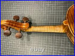Old French violin Leon Mougenot 4/4 size Collection sale with hard case