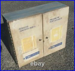 Old Genuine Omc Johnson Evinrude Outboard Motor Ignition Metal Tool Cabinet