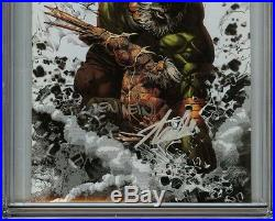 Old Man Logan #25 CGC 9.8 SS 3x STAN LEE DEODATO Virgin Variant HULK WOLVERINE
