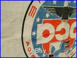 Old PCA Porsche Club America Flag Banner Fahne 356 901 911 928 924 550 Carrera