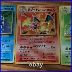 Old Pokemon Card Collection Lot 3 Charizard / Venusaur / Blastoise Excellent