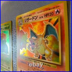 Old Pokemon card collection Charizard / Blastoise / Venusaur excellent