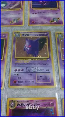 Old Pokemon card lot 27 collection Gengar / Dark Gengar etc excellent