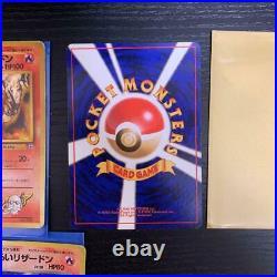Old Pokemon card lot 3 collection Blaine's Charizard / Dark Charizard