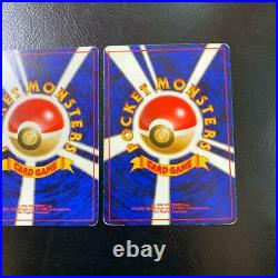 Old Pokemon card lot 3 collection Blastoise / Mewtwo excellent condition