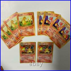 Old Pokemon card lot 50 collection Charizard / Charmeleon / Charmander etc
