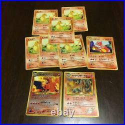 Old Pokemon card lot 6 collection Charizard / Blaine's Charizard etc