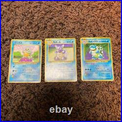 Old Pokemon card lot 9 collection Charizard / Blastoise / Venusaur etc