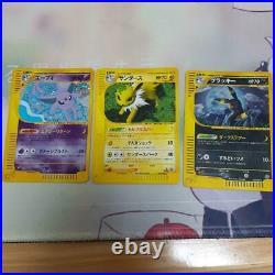 Old Pokemon card lot 9 collection Mew / Espeon / Alakazam etc excellent