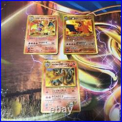 Old Pokemon card lot collection Charizard / Blaine's Charizard excellent