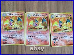 Old Pokemon card lot collection Charizard / Blastoise / Venusaur etc very good