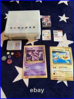 Old Pokemon card lot collection Charizard / Pikachu / Alakazam etc excellent