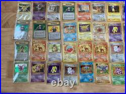 Old Pokemon card lot collection Gyarados / Nidoking excellent Condition