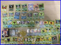 Old Pokemon card lot collection Poliwrayh / Clefairy / Electrode etc excellent