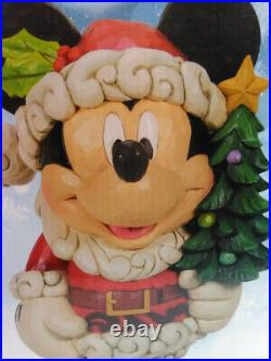 Old St. Mick Disney Traditions 17 Inch Figure Jim Shore Rare