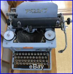 Old Typewriter 1970s Japanese vintage antique wabun type japan Azuma Aduma