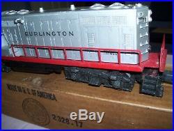 Old Vintage Lionel No. 2328 Burlington Diesel Locomotive with Original Box Estate