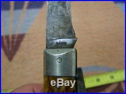 Old Vintage R1123 Remington Umc Pocket Folding Bullet Knife No Sheath Shell Box