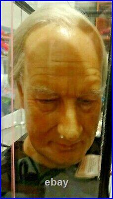 Old museum wax head of Millard Filmore, 13th president! Not Bill Mahrer