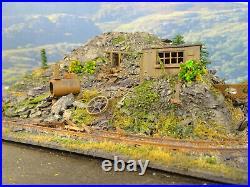 Oo Gauge The Old Slate Mine Scene (detailed Lineside Diorama)