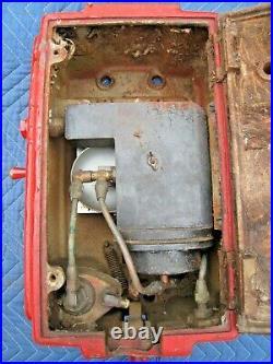 Original 1930's Eco Air Meter Model 37 Tire Meter Tireflator Art Deco Design Old