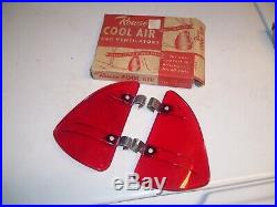 Original 1950' s Vintage Rowse Cool air Breezies nos wing window old Hot rat rod