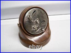 Original 1950' s Vintage nos Dash Clock alarm with magnet leadsled old Rat Hot rod