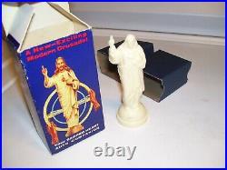 Original 1950s Vintage nos auto Dash Jesus Highway prayer Companion Hot rat rod