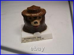 Original 1960s Vintage SMOKEY BEAR SNUFFIT auto car accessory Rat old Hot rod