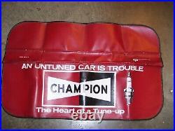 Original USA made Champion Sparkplugs Fender auto Accessory nos vintage Hot rod