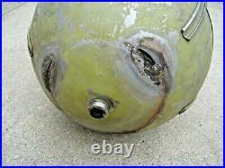 Original WWII B-17 B-24 B-25 Oxygen Tank Hot Rod Accessory Gas Fuel Air Rat WW2