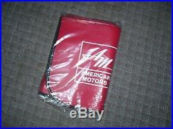 Original rare American Motors promo fender auto accessory Javelin AMX Vintage