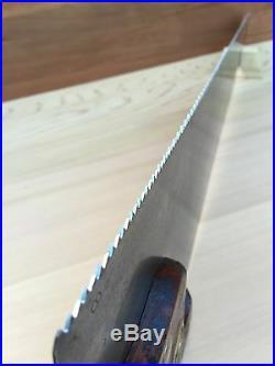 PREMIUM Quality SHARP! Antique SIMONDS SAW Melbourne ETCH Vintage Old Tools #124