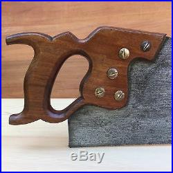 PREMIUM Quality SHARP! Antique SLACK SELLARS 10pt SAW Vintage Old Hand Tool #277