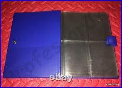 Pokemon Cards CHARMANDER (BLUE) A6 4 Page Old School Folder Album Binder TCG