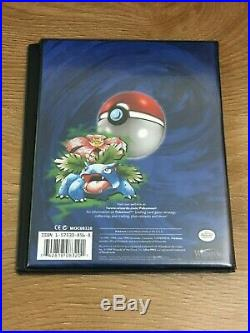 Pokemon Cards ORIGINAL BLUE Old School Folder Album Binder WOTC TCG