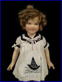 R John Wright Shirley Temple Doll Old Hollywood Collection Signed New