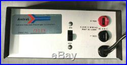 RARE Shure Stereo Preamplifier M64 AMTRAK Trains- New Old Stock withOriginal Box