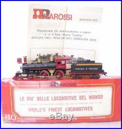 RIVAROSSI 1211 USA Virginia & Truckee Old Timer 4-4-0 Steam Locomotive Reno