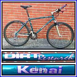 Rare Dirt Research Old School Mountain Bike Columbus Tubing Deore XT Bicycle