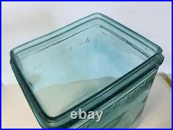 Rare Glass Battery Box Jar, Excellent Condition, Ford Chevrolet Hudson